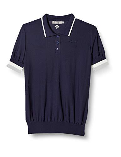 [スリクソン] 半袖ニットシャツ RGWNJA90 レディース NV00(ネイビー) 日本 L (日本サイズL相当)