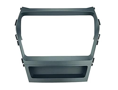 binbin 2 Instalación de Radio de automóvil DIN 9 Pulgadas DVD GPS MP5 PLÁSTICO PLÁCTICO FASTICA FAMISE Ajuste para Hyundai Santa FE IX45 2013 ~ Kit 2017 Dash Mount (Color Name : U0077 Only Frame)