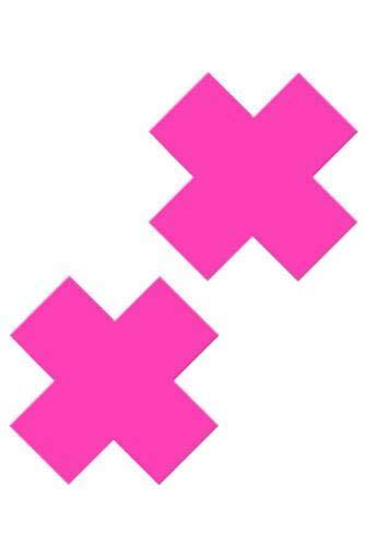 Pink X Nipple Pastie S&Éx T'Ôy