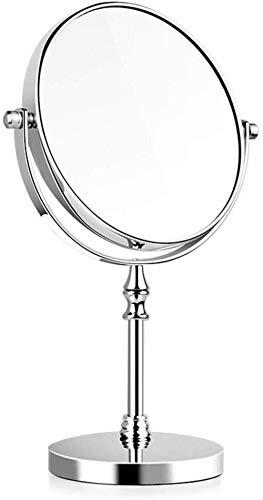 Miroir JT de Bureau de Maquillage Loupe Beauté Rotating Maquillage Petit et Pratique