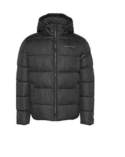 Calvin Klein Jeans Herren Winterjacke Monogram schwarz XL