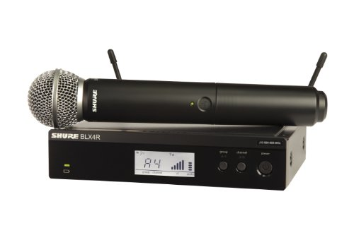 Shure BLX24R/SM58 Wireless Microphone System with SM58 Handheld Vocal Mic