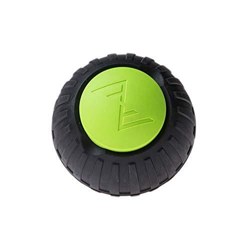 MSF Massage Gereedschap Trigger Point Dual Purpose, Massage Ball Fitness Effen Plantar Fascia Bal Rubber Spierhals Terug Relaxatie Gadget Donker Groen