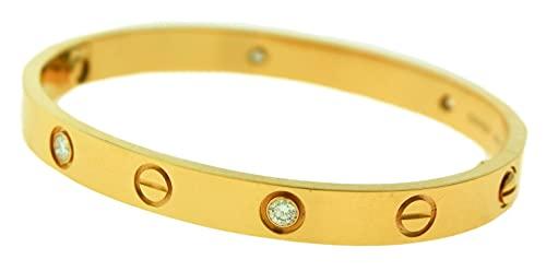 Swarovski Elements Crystal Love Bracelets Cartier Love Bracelets 17cm