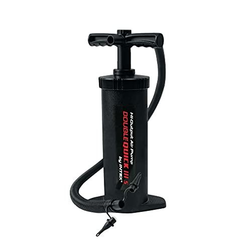 Intex Double Quick III S Hand Pump, 14.5' , Black