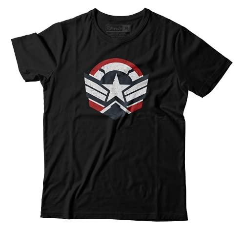 Camiseta Falcão E Soldado Invernal Capitão América Marvel Camisa Unissex (EG)