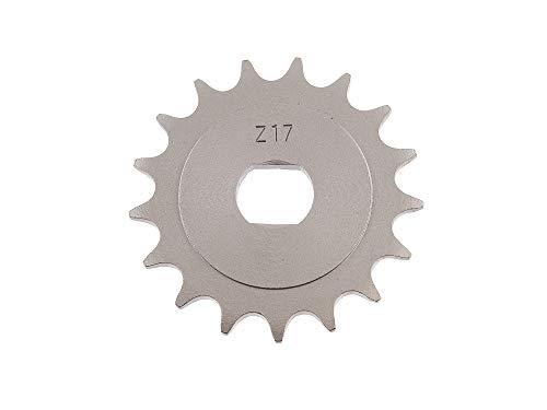 Replika Ritzel, kleines Kettenrad, 17 Zahn - für Simson S51, S70, S53, S83, KR51/2 Schwalbe, SR50, SR80