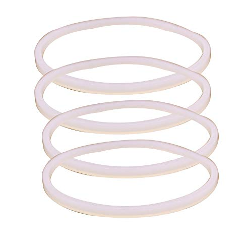 Anbige 4PCS White Rubber Sealing O-Ring Gasket Replacement Parts for Ninja...