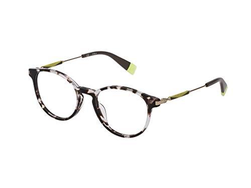 Furla Brille für Vista VFU297 0721 havana rahmenmaterial: kunststoff größe 50-mm-brillen-frau