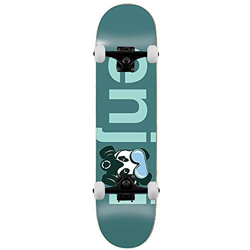 Enjoi Skateboards No Brainer Gasmaske, 21,6 cm, Blaugrün