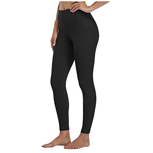TU BANG SHOU Legging taille haute pour femme, pantalon de sport, fitness, de sport, de course à pied, de yoga (couleur : noir, taille : S)