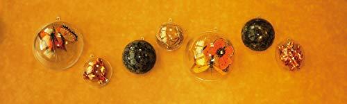 Pw International Lot de 5 Boules Transparentes Plastique 6 cm