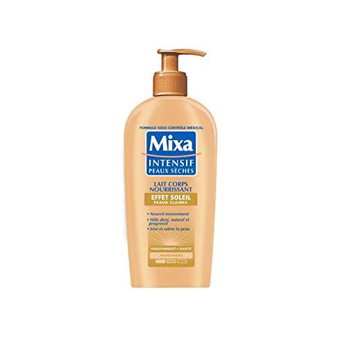 Mixa Intensif Peaux sèches Lait effet soleil peau claire 250ml - Prix Unitaire - Livraison Gratuit En France métropolitaine sous 3 Jours Ouverts