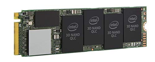 Intel SSD 660p Series 512 GB, M.2 80 mm PCIe 3.0 x 4, 3D2, QLC