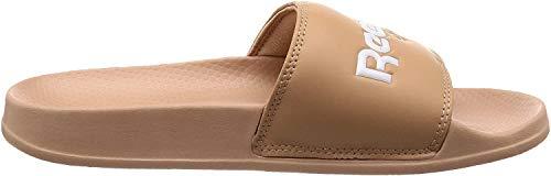 Reebok Classic Slide, Zapatos de Playa y Piscina Unisex Adulto, Rosa (Field Tan/White 000), 44.5 EU
