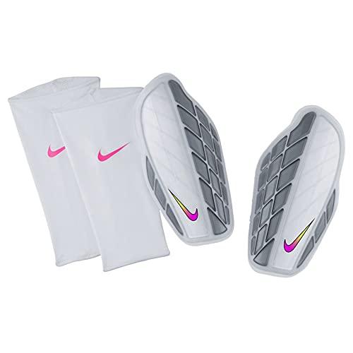 Nike Protegga Pro Attack Premium Fußball-schienbeinschoner, Weiß/Grau/Multi-Color, XL