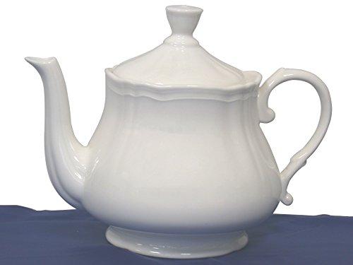 Preisvergleich Produktbild H+H Teekanne New Bone China Cc500 Vorbereitung für Kleber,  silberfarben,  Einheitsgröße