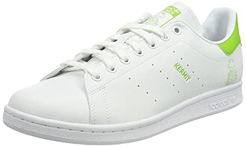 adidas Stan Smith, Scarpe da Ginnastica Uomo, Ftwr White/Pantone/Ftwr White, 45 1/3 EU