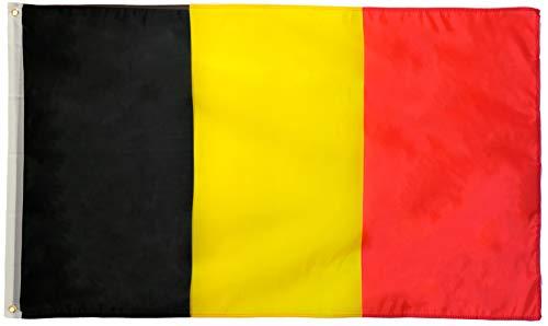 Star Cluster 90 x 150 cm Flagge Belgiens/Belgien Fahne/Drapeau de la Belgique/Vlag Van België/Flag of Belgium (BE 90 x 150 cm)
