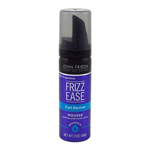 John Frieda Frizz-Ease Mousse, Curl Reviver 2 oz (Pack of 2)