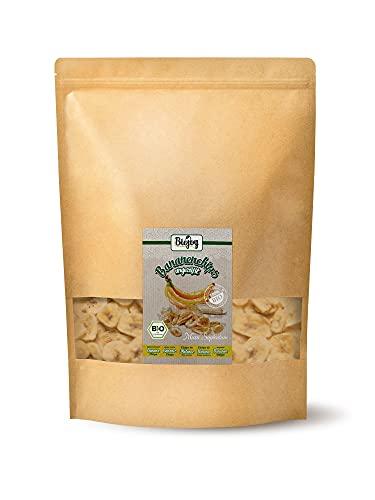 Biojoy Chips de Banane BIO, complètement non édulcoré et sans soufre (1 kg)