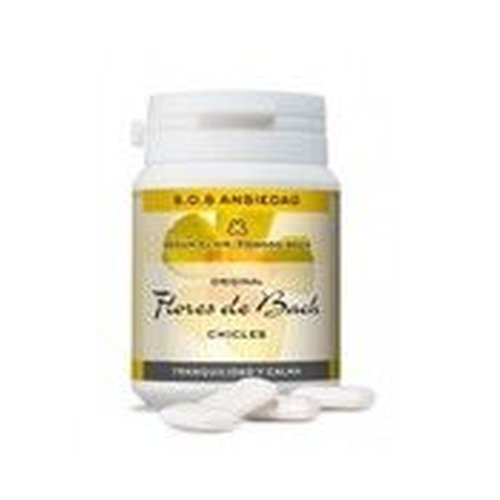 Chicle Flores De Bach Ansiedad 40 Chicles de Lemon Pharma