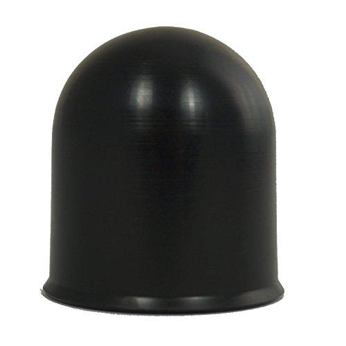 ABDECKKAPPE schwarz für AHK Ø60mm Kappe Anhängerkupplung Kugelkopf Trailer