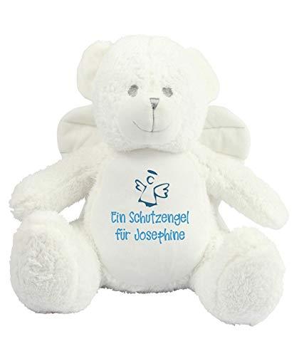 Schutzengel Teddybär Schutzengelbär Engel Teddy Stofftier Kuscheltier personalisiert mit Namen