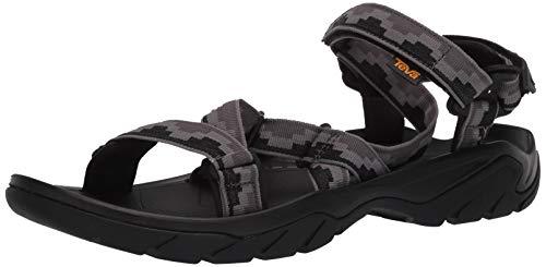 Teva Terra Fi 5 Sport Sandal Mens, Sandalias con Correa de Tobillo Hombre, Gris Oscuro Gull Grey Sdggr, 42 EU