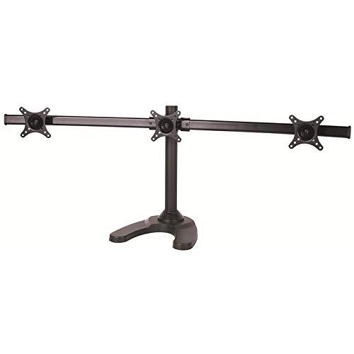 TradeMount Tischhalterung Monitor mit Standfuß Halterung drehbar LCD LED 13-24 Zoll VESA 50x50-100x100
