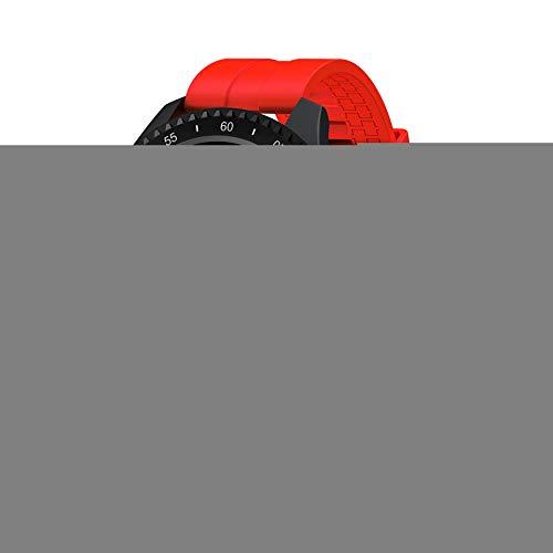 YANGPANGZI Pulsera Deportiva círculo Completo frecuencia cardíaca táctil Completa presión Arterial monitoreo del sueño Pulsera Inteligente recordatorio de información de Llamadas a Prueba de Agua