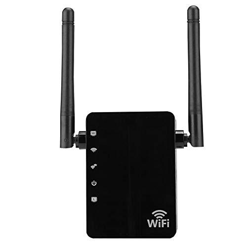 WLAN Repeater-versterker 300 Mbit/s Dubbele netwerkverbinding WLAN-versterker Draadloos Repeater-signaal Wifi Signaalversterker Repeater WiFi-extender Draadloze signaalversterker voor thuis (EU)