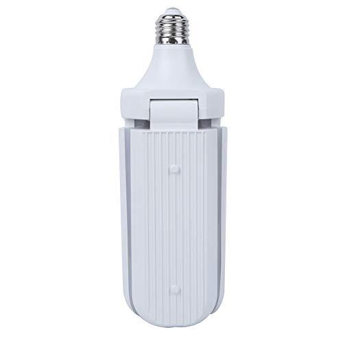 Bicaquu Práctica lámpara LED de luz de Garaje de Amplia aplicación para Oficina en casa(Sanye 45W Warm White)