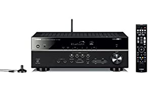 Sintoamplificatore AV 5.1 MusicCast, con Bluetooth in/out, Wi-Fi integrato, AirPlay, app AV Controller e funzioni Network Regolazione livello del dialogo e dell'altezza dialogo, compatibile con pass through di formati video 4K Ultra HD, HDR Video e B...