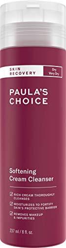 Paula's Choice Skin Recovery Crème Nettoyant Visage - Démaquillant et Élimine les Rougeurs & les Impuretés - avec Bêta-Glucane - pour Peaux Normales à Très Sèches et Sensibles - 237 ml