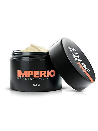 IMPERIO Styling Wax - Starker Halt Haarwachs in Premium Qualität für Deinen perfekten matt Look - 100ml