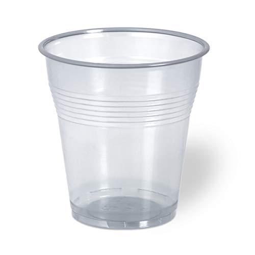 aristea - Bicchieri 166cc Trasparenti - 30 Confezioni da 100 Pezzi [3000pz] per Servizi di ristorazione Hotel e Bar