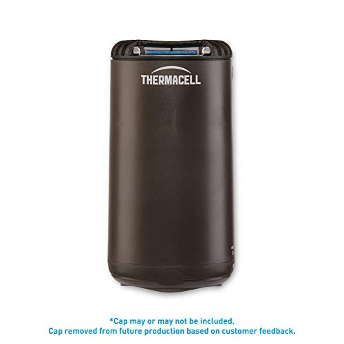 Thermacell MR-PSL Patio Shield Mosquito Repellent, Graphite; Easy to Use, Highly Effective; Provides 12 Hours of DEET-Free Mosquito Repellent; Scent-Free, No Spray, No Smoke and Cordless