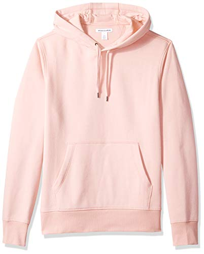 Amazon Essentials Men's Hooded Fleece Sweatshirt, Pink, Medium