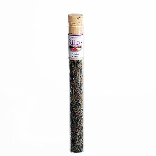 Fumigation encens Bijos dans un tube en verre de 35 ml, AIGUILLE DE PIN - pour le nettoyage et la désinfection des locaux