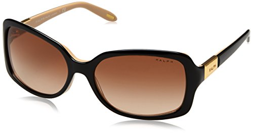 Ralph Lauren RALPH BY 0Ra5130 Gafas de Sol, Black/Nude, 58 para Mujer