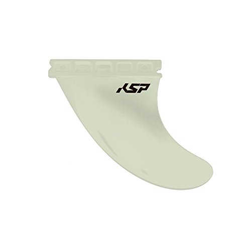 Set 3 Flossen flexseries KSP White Boards Wave Board Black/White Wave Board Kite