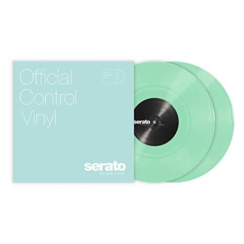 Serato Control Vinyl – Colori standard – Glow in Dark (coppia)