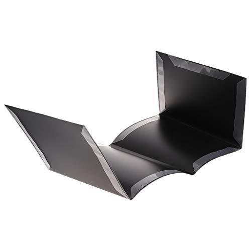 BINGHONG3 Notenmappe für Notenblätter beim Spielen (schwarz)