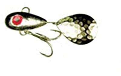Mann's Bait Company Little George Fishing Lure (Pack of 1), 1-Ounce, Silver/Black from Mann's Bait Company