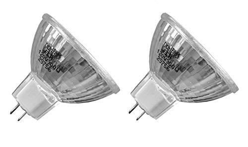 2pcs ELH 120V 300W RM-129 Donar Bulb for Bell & Howell 448 452 454, Slide Cube 985, 986 987 991 1000 3000, Slide Cube Z, CP40 RC50 RC55 RF60 AF66 AF70 AF80, Autoload Film Strip 746A, 746F 747A