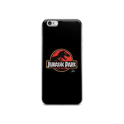 Roadiress TPU Pure Clear Compatible with iPhone 12 Pro Max (6.7 inch) Case Jurassic Park in Pen Dots Phone Cases protection Cover