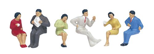 Kato 6-510 Ho Seated Diners 5 [Toy] (japan import)