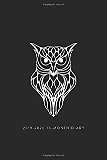 Schedule Planner and Appointment Diary UK Edition Personal Organisers, Monthly Calendar Planners and Appointment Books 2019-2020 18-Month Diary; Goddess.: Month to View Calendar