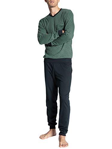 CALIDA Herren Relax Streamline 2 Pyjamaset, Laurel, XL